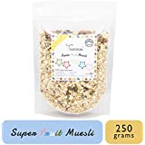 Tassyam Super Fruit Muesli 250 Grams | Natural Rolled Oats + Dehydrated & Dried Fruits