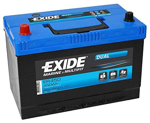 Exide ER450 DUAL BLEI-SAEURE 12V 95AH 650A - Best Price