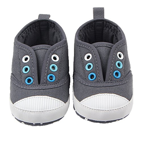 Fire Frog  Baby Spring and Autumn Shoes, Baby Jungen Lauflernschuhe Grau