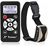 marsboy A  Trainer 800 Meters Remote Dog Training Collar Waterproof Auto Anti Barking Collars Rechargeable Pet Trainer with Warning Tones, Vibration,