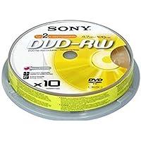Sony 10DMW47ASP wiederbeschreibbar 4,7GB DVD-RW Rohling 2x, 120 Minuten (10er Spindel)