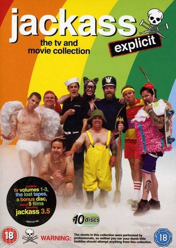 JACKASS: The TV And Movie Collection [10 DVDs] (UK-Import)