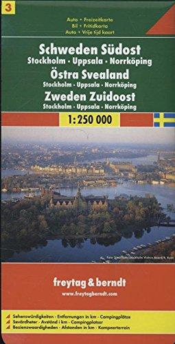 Freytag Berndt Autokarten, Schweden Südost - Stockholm - Uppsala - Norrköping, Blatt 3 - Maßstab 1:250.00: Alle Infos bei Amazon