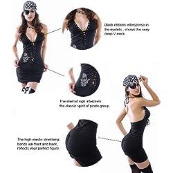 Vestido de pirata sexy, para mujer.
