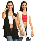 Skidlers Women's Shrug (Pack of 2) (DESI...