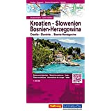 Kroatien Slowenien 500T (Hallwag Strassenkarten)