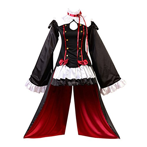 Seraph of the End Vampires Krul Tepes Uniform Cosplay (Tepes Krul Kostüm)