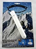 Zauberschnee im Reagenzglas auf Karte, Schnee, Dekoschnee