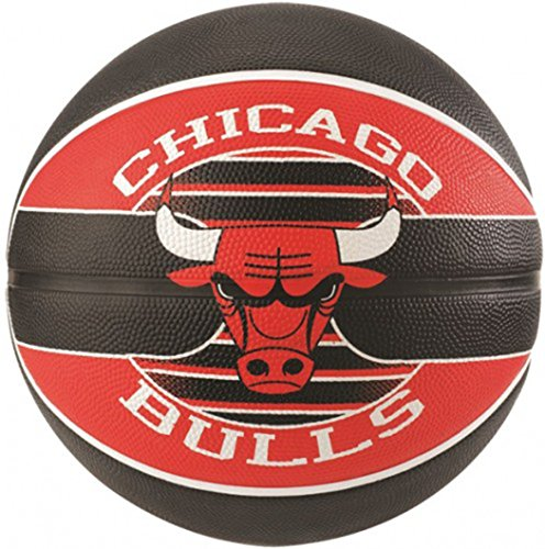 BASKETBALL SPORTS NBA Spalding Replica Chicago Bulls Team Outdoor Play Ball