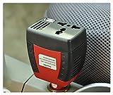 150W de energía de coche Inversor 12V DC a 220V AC + adaptador del ordenador portátil cargador de 5V convertidor USB