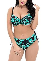 nuovo concetto fed0d 7921f Amazon.it: Taglie Forti Donna - 52 / Mare e piscina / Donna ...