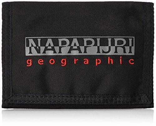 Napapijri - Portafoglio per adulti, colore Nero (BLACK 041), 27x16x1 cm (B x H x T)