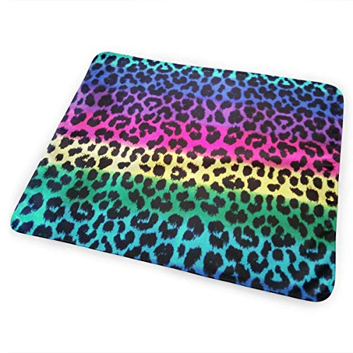 Voxpkrs Colorful Cheetah Leopard Baby Crib Pee Changing Pad Mat Mattress Protector for Toddler Kids Infant Pets