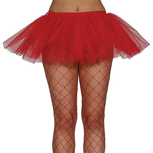 Red 3-Schicht Tutu. One size Damen U.K Größe 8-12. Größe 36-40 Euro (Red Tutu Kostüm Idee)
