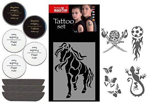 KREUL Fantasy TattooSchminkset Event, 1er Pack (1 x 13 Stück)