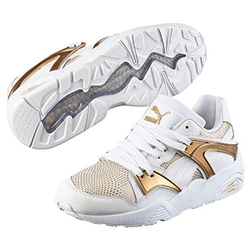 Puma Damen Blaze Gold Low-Top Weiß