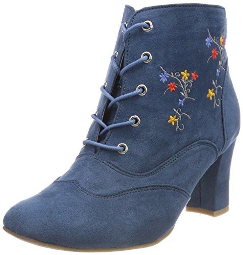 HIRSCHKOGEL by Andrea Conti Damen 3005722 Stiefel, Blau (Jeans), 40 EU