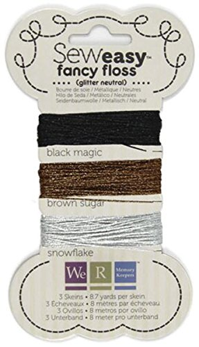 We R Memory Keepers Sew Easy Glitzerseide, neutral (Easy Memory Keepers We Sew R)