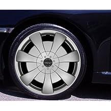 Tapacubos NORD Plata 15Pulgadas Audi A4B58E, A6C44B