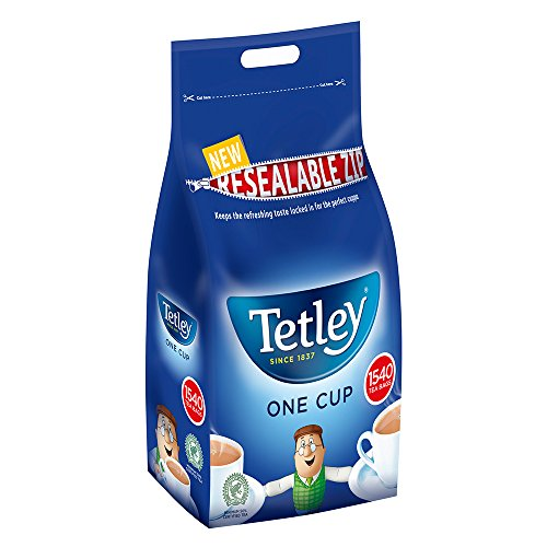 1 X TETLEY TEA BAGS 1 CUP 1100+40% 1540(1 PACK BUNDLE)