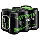 Green Cola Can, 6x330 ml, Pack of 4