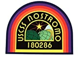 STICKERZZZ!!! Aliens Nostromo (110 x 90 mm) - 2 Adhesivos