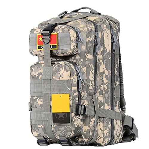 Militär Fans Outdoor Klettern Paket Taktische Doppel Schulter Tasche Männer Und Frauen Reisen Wasserdichte Breathable Tasche,ACU ACU