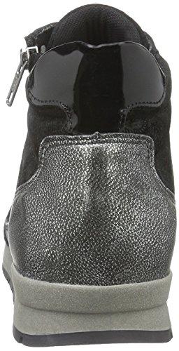 Marc Shoes Damen Raven High-Top Schwarz (black-combi 00079)