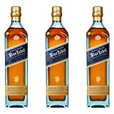 Johnnie Walker Blue Label, 3er, Blended Whisky, Scotch, Alkohol, Alkoholgetränk, Flasche, 40%, 700 ml, 688868