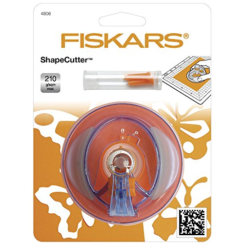 Fiskars 2407001 Shape Cutter Plus, 6 cm x 9 cm Durchmesser - 2