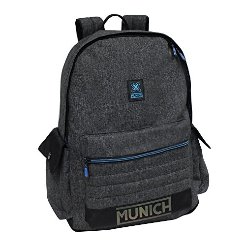 Imagen de munich black to color  tipo casual, 18.3 litros, color gris