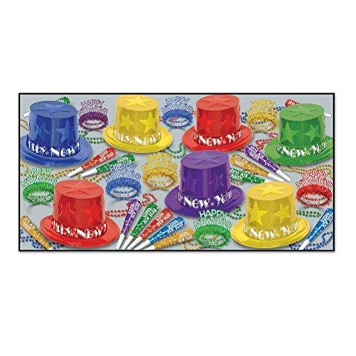 Beistle 88832-5050tlg. Sortiert NEU Jahr Stern Partyzubehör, Multicolor