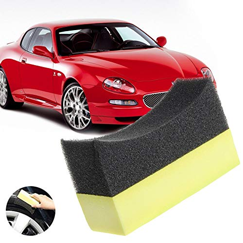 sionelle Reifen Reifen Dressing Applikator Gebogene Schaum Schwamm Pad Kreativ und Nützlich ()