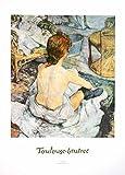 Germanposters Toulouse Lautrec Poster Kunstdruck La toletta