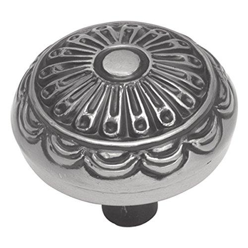 Hickory Hardware P391-SM 1.25 In. Southwest Lodge Silber Medallion Cabinet Knob