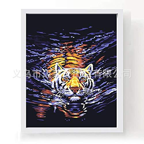 zxddzl Fai da Te Pittura Digitale Fabbrica all'Ingrosso 40x50cm E006 Tianma Linea e102 40 * 50