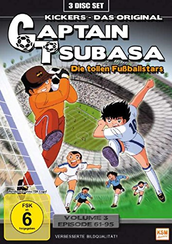 Captain Tsubasa: Die tollen Fußballstars, Vol. 3 - Episoden 61-95 (3 DVDs)