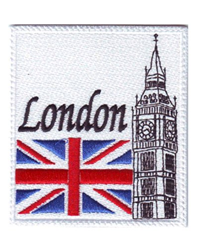 MAREL Patch Londres-London Parche termoadhesivo