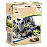 16 x Bozita Cat Tetra Recard Häppchen in Gelee Ente 370g, Nassfutter, Katzenfutter