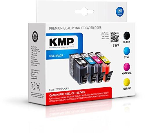 KMP Multipack für Canon PIXMA iP4200/iP5200, C66V
