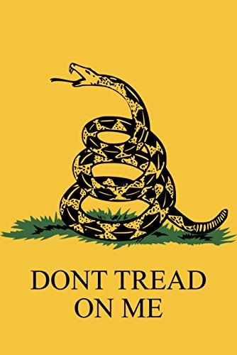 Nylon Flag (Gadsden Don 't tread on me 45,7x 30,5cm Nylon Garden Flag 18x 12Made in USA 45,7x 30,5cm)