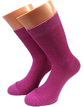 Damen Öko Socken 100% kbT Wolle