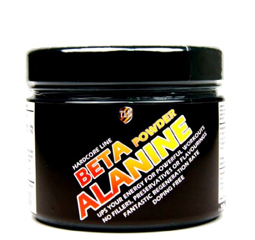 TLN Beta-Alanine Powder - 250 g, pur Beta-Alanine Poudre, pure acide aminé
