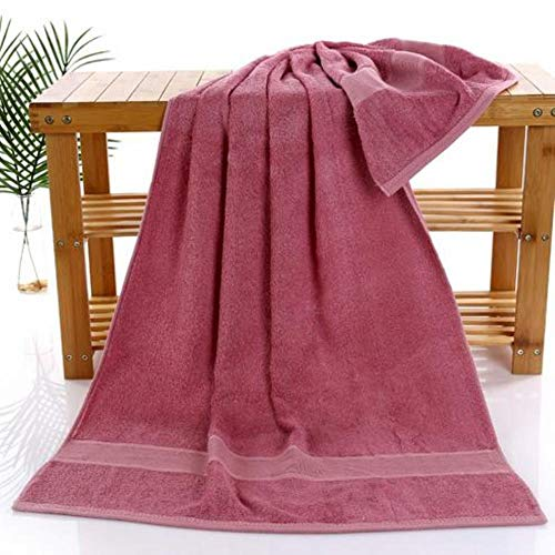 HAHAJY antibakterielle Bambusfaser Badetuch 70 * 140 cm große badetücher Geschenk Handtuch, A, 70x140 cm