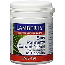 Lamberts Extracto de Saw Palmetto 160mg - 120 Tabletas