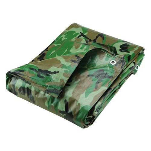 Destockoutils Bâche Camouflage Militaire 2,40 x 3 m Airsoft Paintball REF 488443