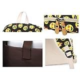 ZUNIYAMAMA 3 set Schultasche Emoji Canvas Laptop Rucksack Schultertasche Handtasche Tasche (Federmäppchen) Vergleich