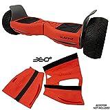 Siliskinz® 360 Grad Hoverboard Silikon Jelly Case Cover - Für alle Gelände 8,5
