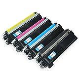 Set Toner für Brother TN-230 Schwarz+ 3 Farben - Bk 2.200 Seiten,color je 1.400 seiten, kompatibel