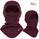 Sturmhaube Winter Skimaske, Winddichte warme Gesichtsmaske für Männer Frauen, Kaltes Wetter...